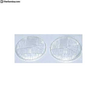 211941115F-116F. HeadLight Glass, Flutted Lenses