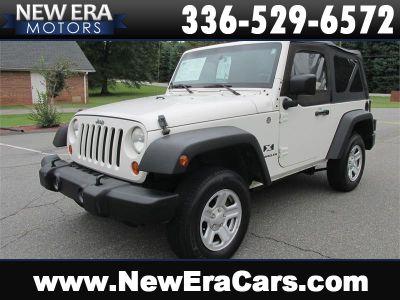 2007 Jeep Wrangler X (White)