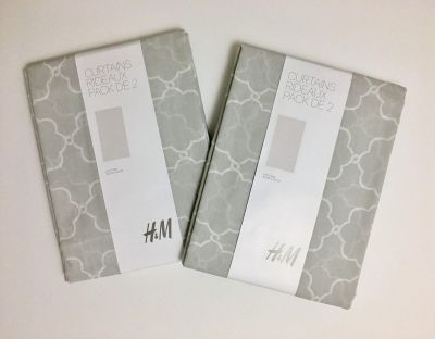 Brand New 2 Pairs of H&M Curtains