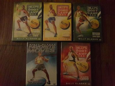 Billy's boot camp dvd