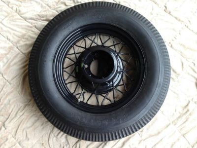 "Purchase Ford 17"" bent spoke Kelsey Hayes rims powder coated with Firestone tires motorcycle in Pacific Grove, California, United States, for US $2,500.00"
