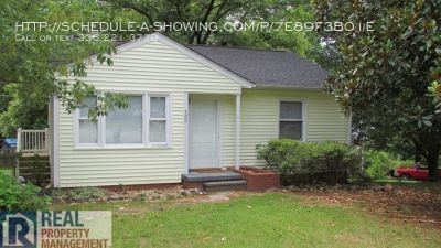 2BR/1BA Bungalow in Guilford Hills w/ fenced yard on corner lot