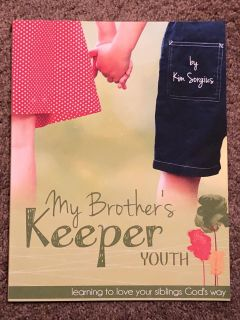 My Brothers Keeper Bible Study from Not Consumed, covers sibling relationships, for ages 8-14, EUC w/no writing or marks, $8. Discount PPU.