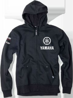 Purchase Factory Effex Yamaha Fork Zip Up Hoodie Mens 2XL Black 16-88258 motorcycle in Monroe, Connecticut, United States, for US $64.95