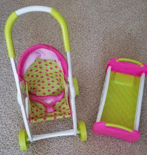 Cabbage Patch stroller and doll bed