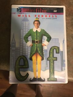 New, never opened Elf DVD