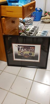 1999 ATLANTA FALCONS NFC CHAMPIONSHIP GAME SIGNED MORTEN ANDERSON