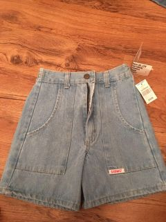 New with tags girls jean shorts. Size S/8. Asking $7