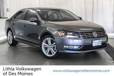2015 Volkswagen Passat 2.0L TDI SEL PREMIUM (PLATINUM GRAY METALLIC)