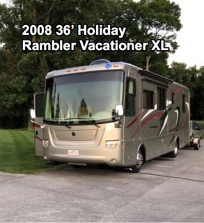2008 Holiday Rambler Vacationer XL 36WBD