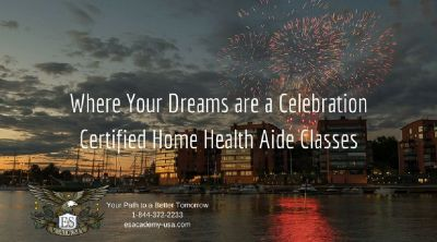 Certified Home Health Aides classes are just three weeks long! E&S Academy!