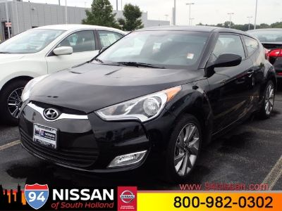2017 Hyundai Veloster Base (Black)