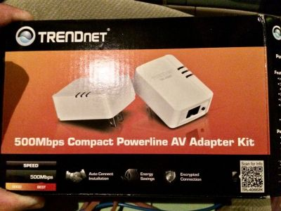 Ethernet Powerline Adapters