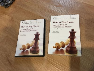 How to play chess. DVD s and book that goes with it. ALL BRAND NEW SET!