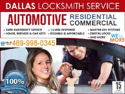 Special Locksmith Services!!!
