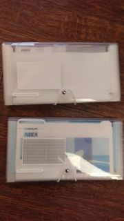 Container Store file organizers