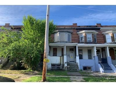 Preforeclosure Property in Baltimore, MD 21215 - Virginia Ave