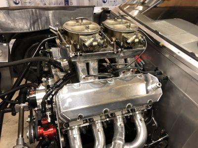 Hogans sheet metal/waterman fuel injection