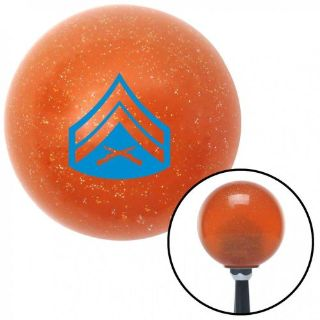 Buy Blue 03 Corporal Orange Metal Flake Shift Knob with 16mm x 1.5 Insertcustom motorcycle in Portland, Oregon, United States, for US $29.97