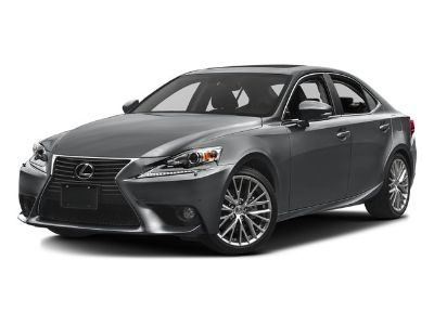 2015 Lexus IS 250 Base (Matador Red Mica)