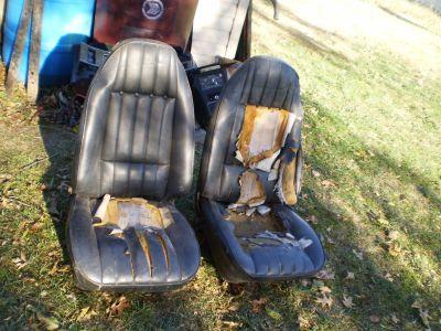 RARE 1970-1981 FIREBIRD CAMARO BUCKET SEATS TRANS AM Z28 1971 1972 1973 455 400