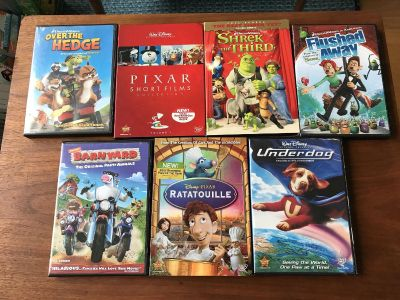 Lot of DVDs- individual