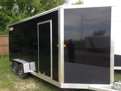 2018 Bear Track by Voyager Ind BTE716T ENCLOSED Equipment Trailer Trailers Elkhorn, WI