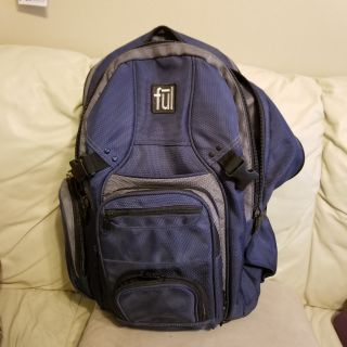 FUL brand backpack; will fit laptop!