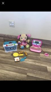 Vtech/leapfrog learning sounds and more laptop$25