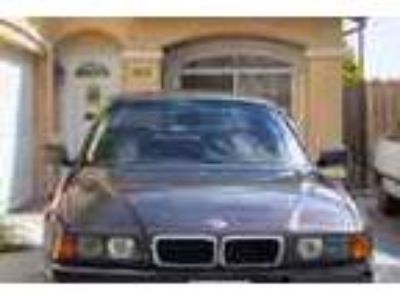 Bmw 1995 740i Sedan Family Emergency For To Sale At Low Price
