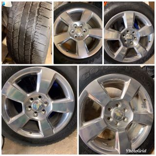Chevy Stock Factory Rims