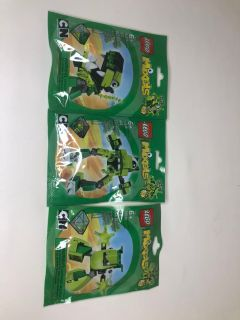 3 LEGO mixels sets
