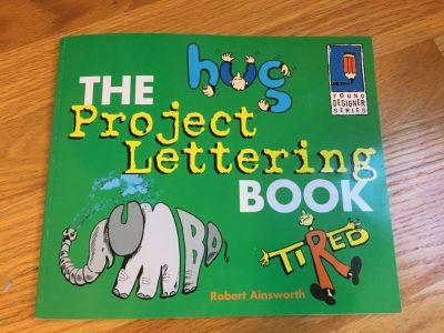 Project Lettering book