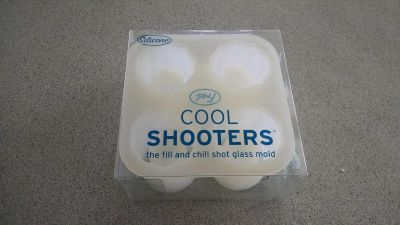 Cool Shooters: Fill and Chill Shot Glass Mold-silicone
