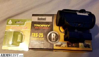 For Sale/Trade: Bushnell trs-25 3 MOA Red Dot and utg riser mount .83 in