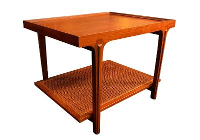 "Mid Century Drexel ""Apart Mates"" Cherry Side Table"