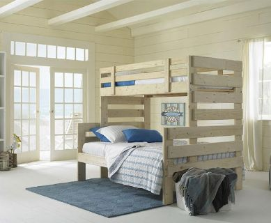 Bunk Bed Solid WoodHeavy Duty and Kid Friendly--Will Deliver