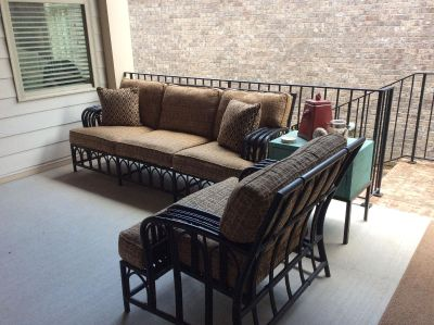 Lane Venture Outdoor/Patio Furniture (Couch and Chair)