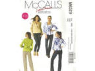 McCalls M6329 Sewing Pattern Womens Lined Jacket Blazer Plus