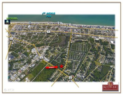 Bellamy Tract .50 Acre-Land For Sale-Myrtle Beach-Keystone Commercial Realty