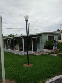 One bedroom mobile home for rent in 55 Plus Palm Grove Community