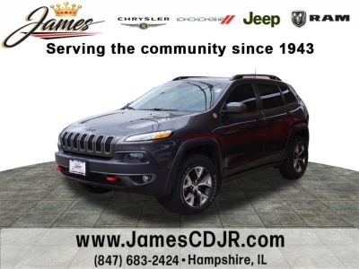 2016 Jeep Cherokee Trailhawk (GRAY)