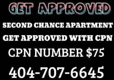 404-707-6645 BAD CREDIT EVICTIONS GET APPROVED WITH CPN SCN NUMBER