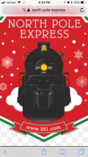 ISO North Pole Express Tickets