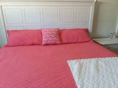 King size coverlet set