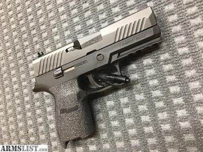 For Sale/Trade: Sig P320 Compact 45ACP W/ Carry Action Job