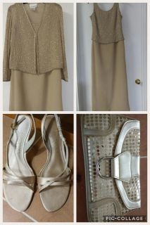 Set: Dress and purse. **Matching shoes in separate listing. **