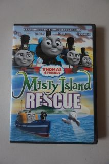 Thomas and Friends Misty Island Rescue DVD Movie