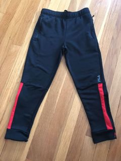 Fila Sport EUC Skinny sweats with zippered pockets and zippers on bottom. Drawstring waist. Size S. IMO 7/8. NO SNAGS