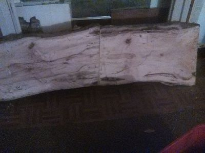 Hand made Pecan coffee table